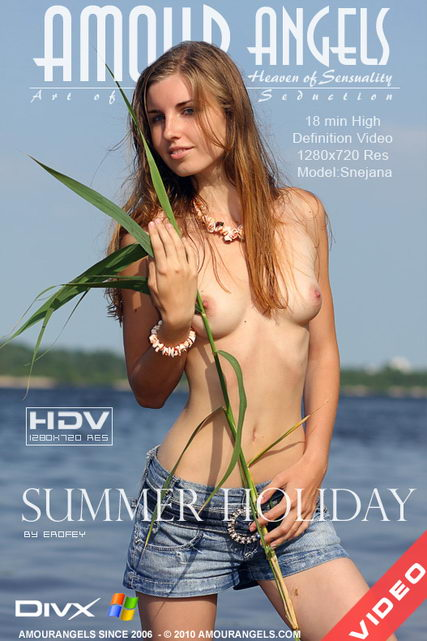 Snejana - `Summer Holiday` - by Erofey for AMOUR ANGELS