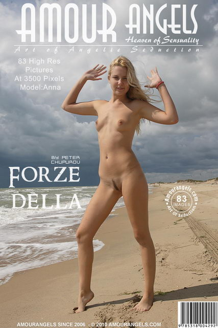 Anna - `Forze Della` - by Peter Chupurov for AMOUR ANGELS