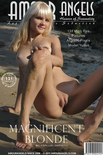 Sveta - `Magnificent Blonde` - by Pierluigi Dzanetti for AMOUR ANGELS