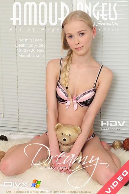 Ursula - `Dreamy Video` - by Fredy Riger for AMOUR ANGELS