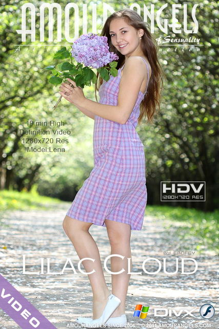 Lena - `Lilac Cloud` - by Erofey for AMOUR ANGELS