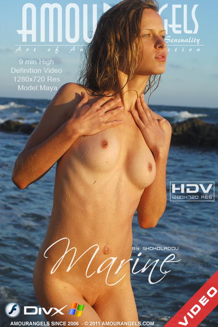 Maya - `Marine` - by Shokoladov for AMOUR ANGELS