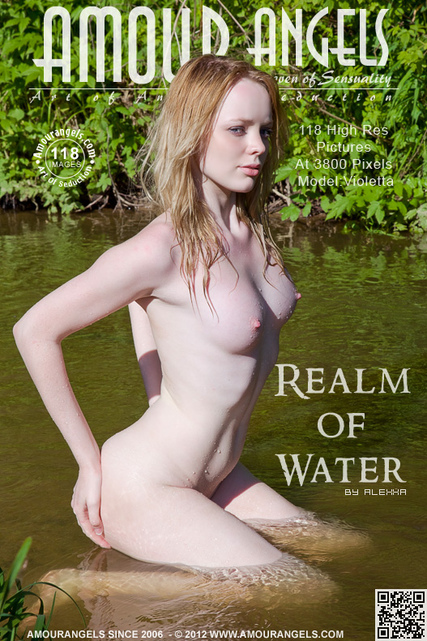 Violetta - `Realm Of Water` - by Alexxa for AMOUR ANGELS