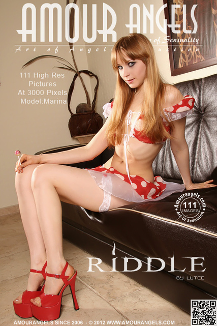 Marina - `Riddle` - by Lutec for AMOUR ANGELS