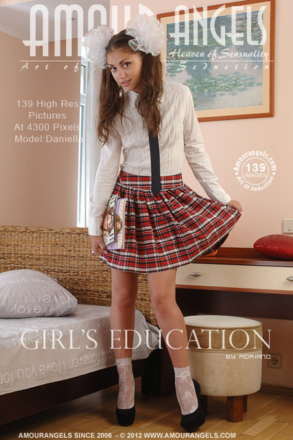 Daniella - `Girls Education` - by Adriano for AMOUR ANGELS