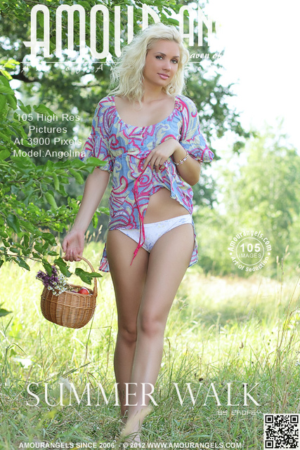 Angelina - `Summer Walk` - by Erofey for AMOUR ANGELS