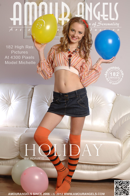Michelle - `Holiday` - by Adriano for AMOUR ANGELS
