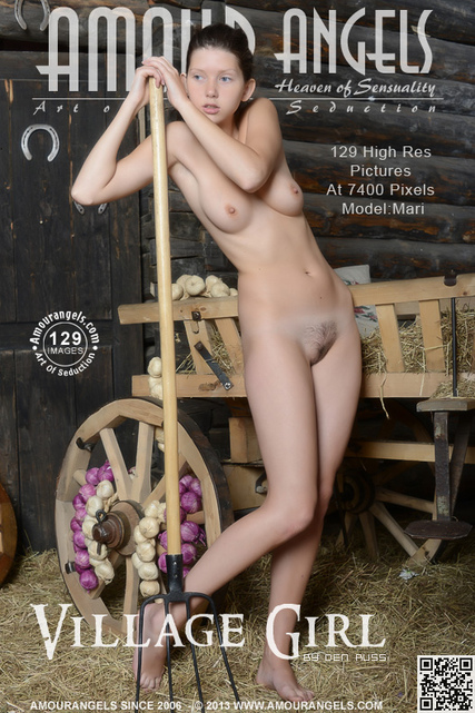 Mari - `Village Girl` - by Den Russ for AMOUR ANGELS
