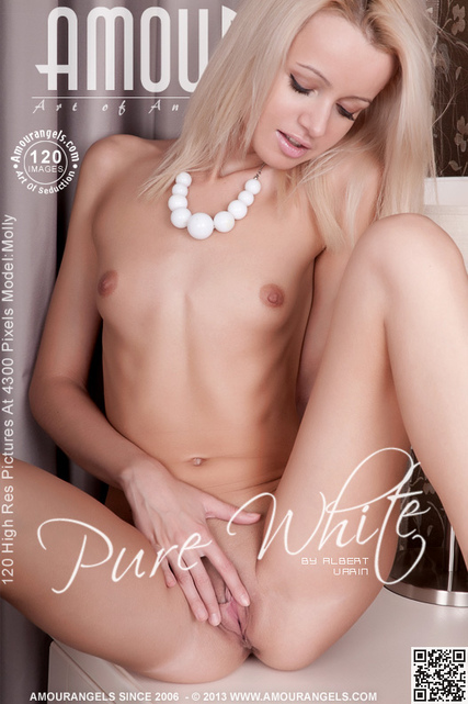 Molly - `Pure White` - by Albert Varin for AMOUR ANGELS