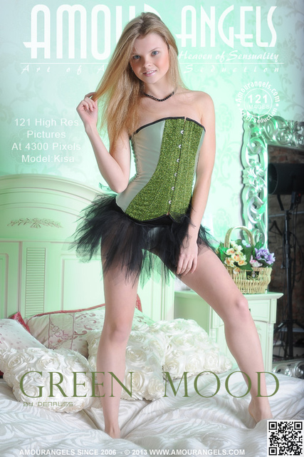 Kisa - `Green Mood` - by Den Russ for AMOUR ANGELS