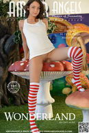 Nensi in Wonderland gallery from AMOUR ANGELS by Den Russ
