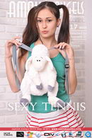 Sonya in Sexy Tennis video from AMOUR ANGELS by Scorpio D