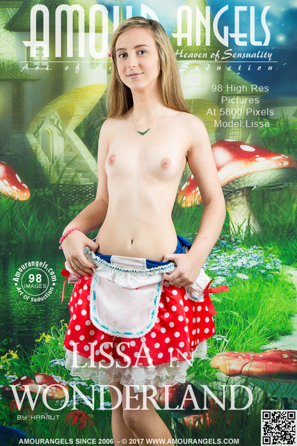 Lissa - `Lissa In Wonderland` - by Harmut for AMOUR ANGELS