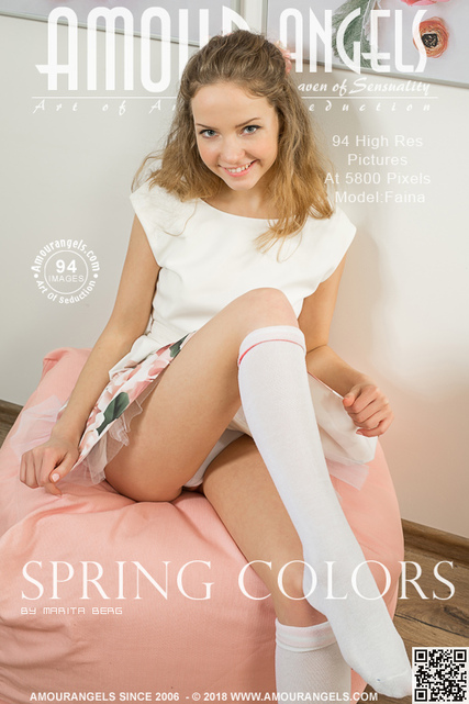 Faina - `Spring Colors` - by Marita Berg for AMOUR ANGELS