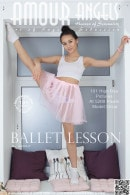 Elisia in Ballet Lesson gallery from AMOUR ANGELS by Harmut