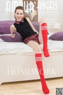 Galina in Homework gallery from AMOUR ANGELS by Marita Berg