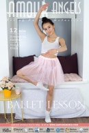 Elisia in Ballet Lesson video from AMOUR ANGELS by Harmut