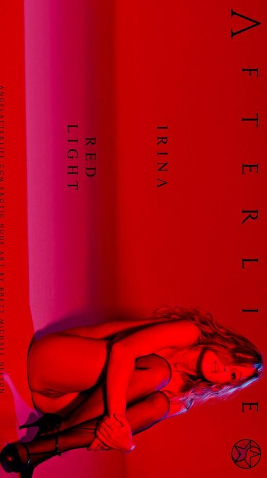 Irina - `Red Light` - by Brett Michael Nelson for ANGELAFTERLIFE