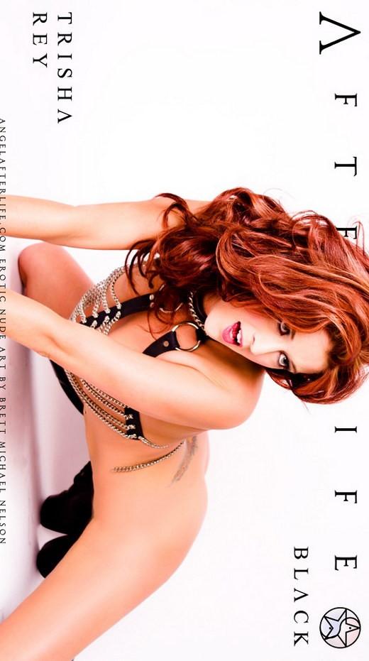 Trisha Rey - `Black` - by Brett Michael Nelson for ANGELAFTERLIFE