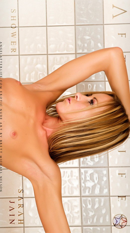 Sarah Jain - `Shower` - by Brett Michael Nelson for ANGELAFTERLIFE