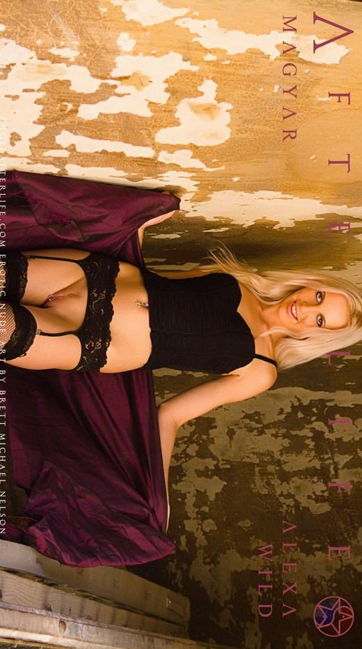 Alexa Wild - `Magyar` - by Brett Michael Nelson for ANGELAFTERLIFE