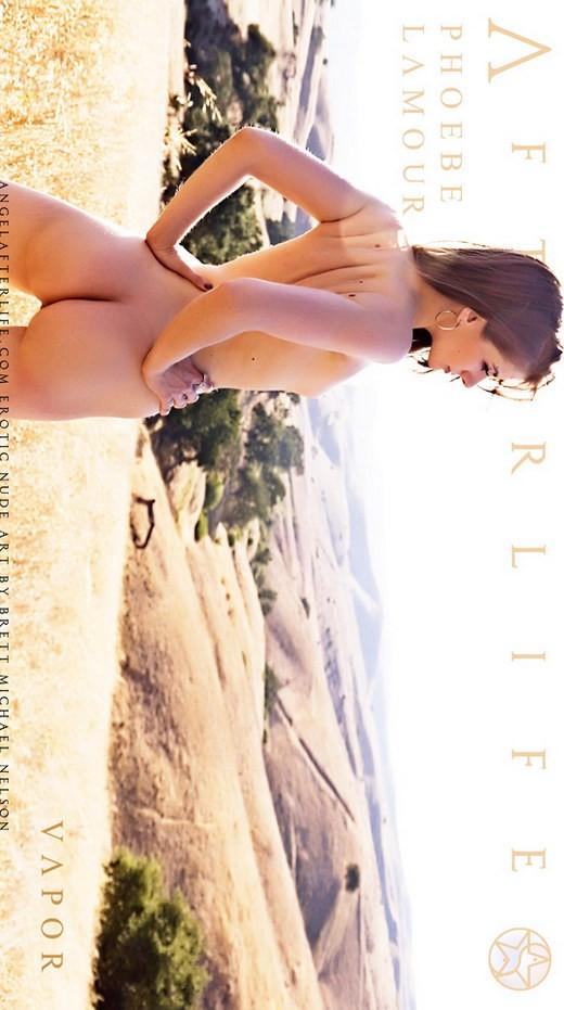 Phoebe Lamour - `Vapor` - by Brett Michael Nelson for ANGELAFTERLIFE
