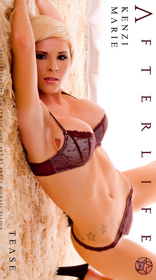 Kenzi Marie - `Tease` - by Brett Michael Nelson for ANGELAFTERLIFE