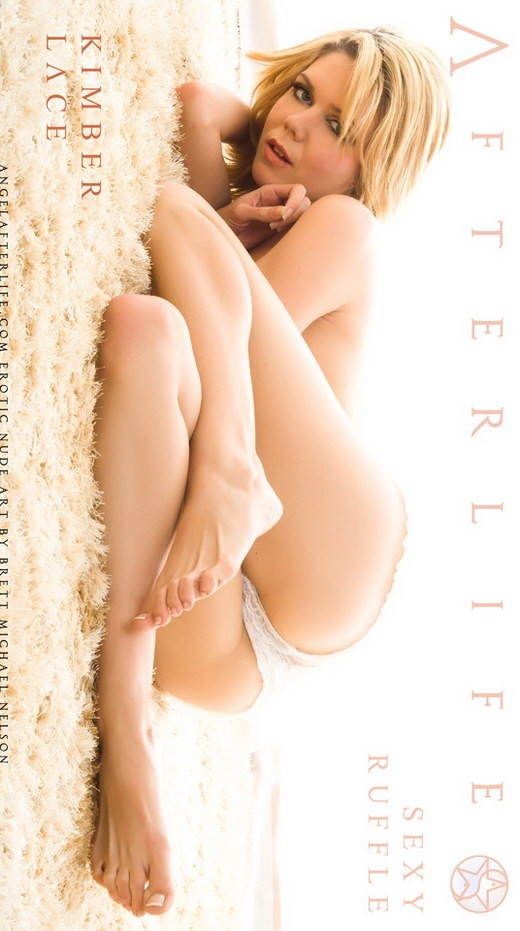 Kimber Lace - `Sexy Ruffle` - by Brett Michael Nelson for ANGELAFTERLIFE