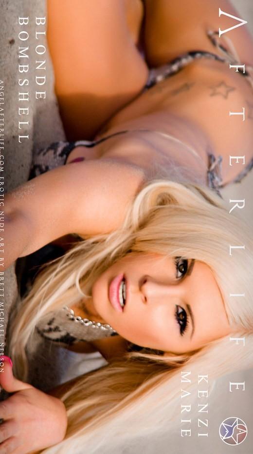 Kenzi Marie - `Blonde Bombshell` - by Brett Michael Nelson for ANGELAFTERLIFE