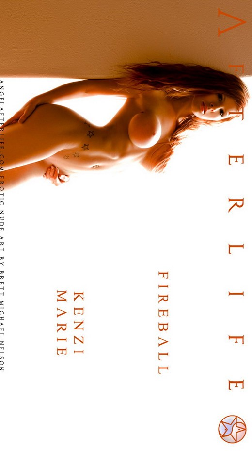 Kenzi Marie - `Fireball` - by Brett Michael Nelson for ANGELAFTERLIFE