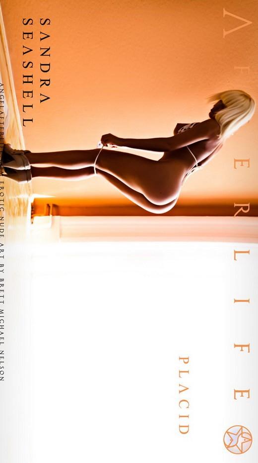 Sandra Seashell - `Placid` - by Brett Michael Nelson for ANGELAFTERLIFE