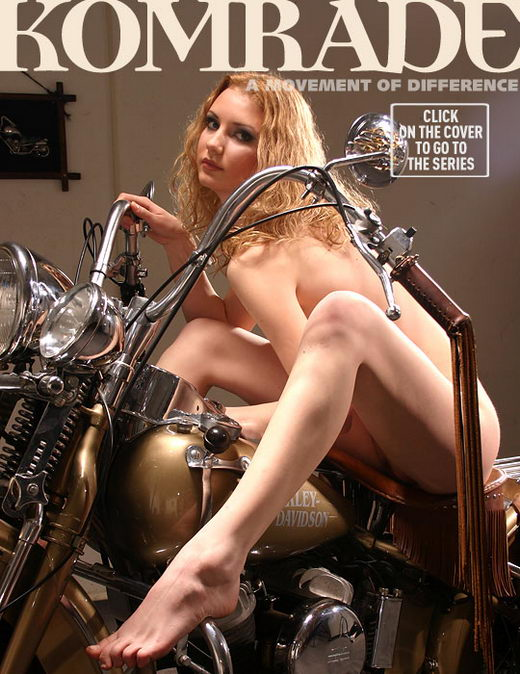 `Biker Chick` - for ANGELARCHIVES