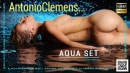 Delilah G in Aqua Set video from ANTONIOCLEMENS by Antonio Clemens