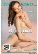 Annett A in Strict Dancer gallery from ANTONIOCLEMENS by Antonio Clemens