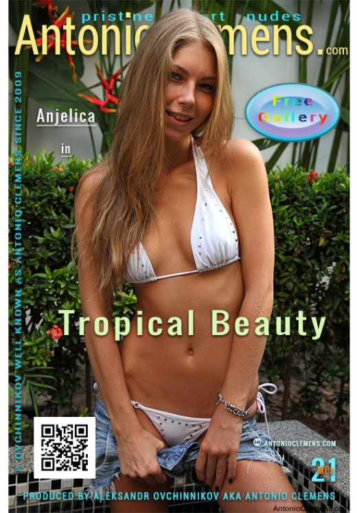 Anjelica in Tropical Beauty gallery from ANTONIOCLEMENS by Antonio Clemens