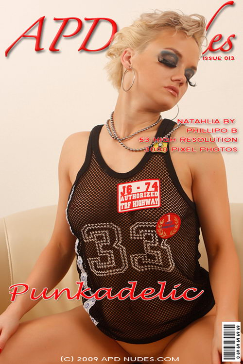 Natahlia - `#013 - Punkadelic` - by Phillipo B for APD NUDES