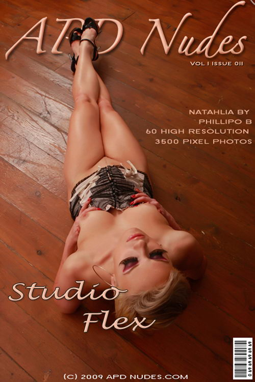 Natahlia - `#011 - Studio Flex` - by Phillipo B for APD NUDES