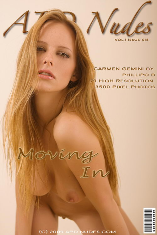 Carmen - `#018 - Moving In` - by Phillipo B for APD NUDES