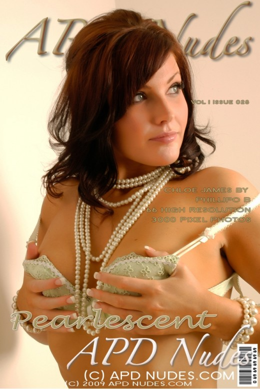 Chloe James - `#028 - Pearlescent` - by Phillipo B for APD NUDES