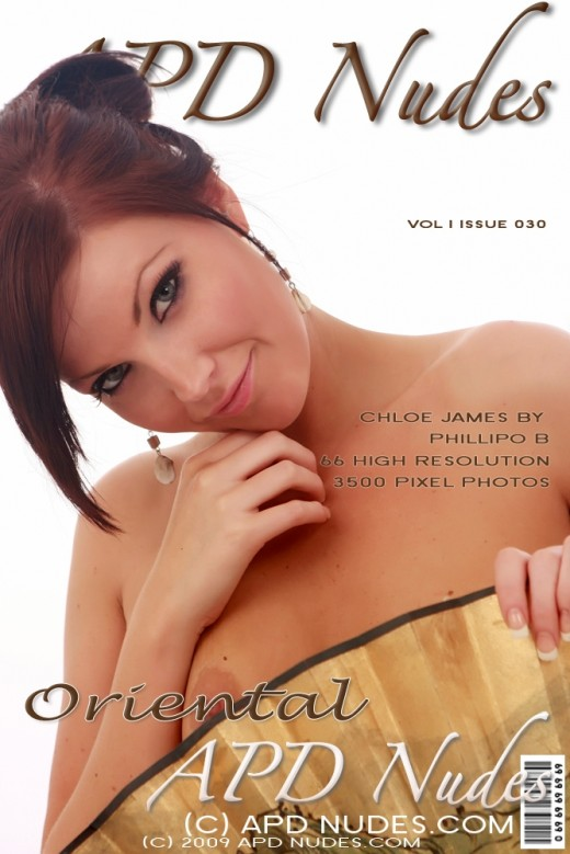 Chloe James - `#030 - Oriental` - by Phillipo B for APD NUDES