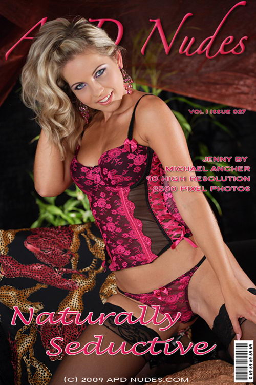 Jenni - `#027 - Naturally Seductive` - by Michael Ancher for APD NUDES
