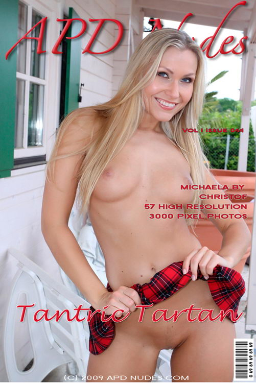 Michaela - `#044 - Tantric Tartan` - by Christof for APD NUDES