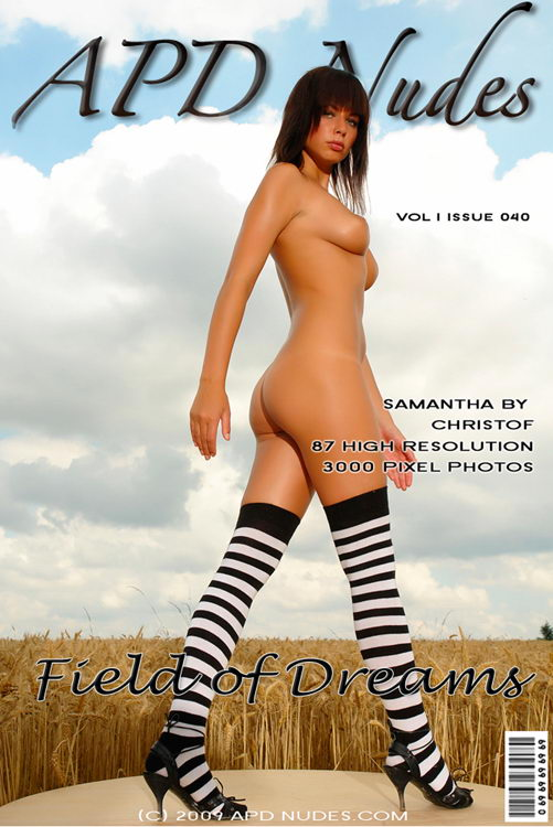 Samantha - `#040 - Field Of Dreams` - by Christof for APD NUDES