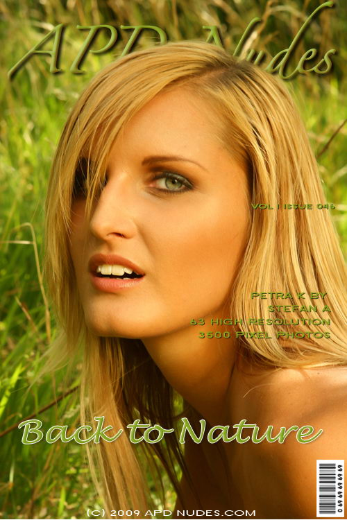Petra K - `#046 - Back To Nature` - by Stefan A for APD NUDES