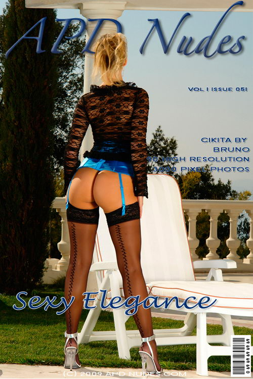 Cikita - `#051 - Sexy Elegance` - by Bruno for APD NUDES