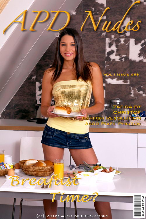 Zafira - `#056 - Breakfast Time` - by Christof for APD NUDES