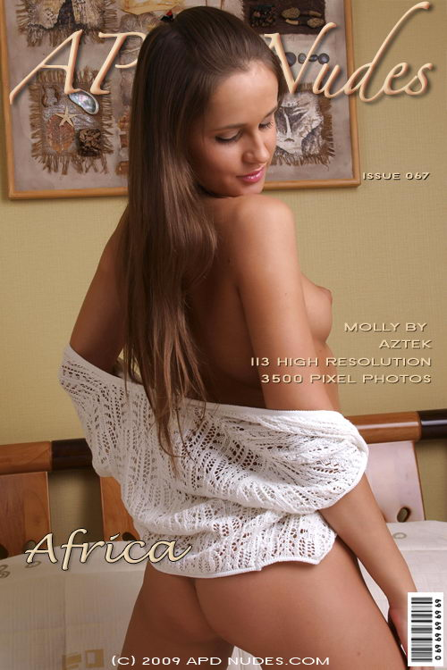 Molly - `#067 - Africa` - by Aztek for APD NUDES