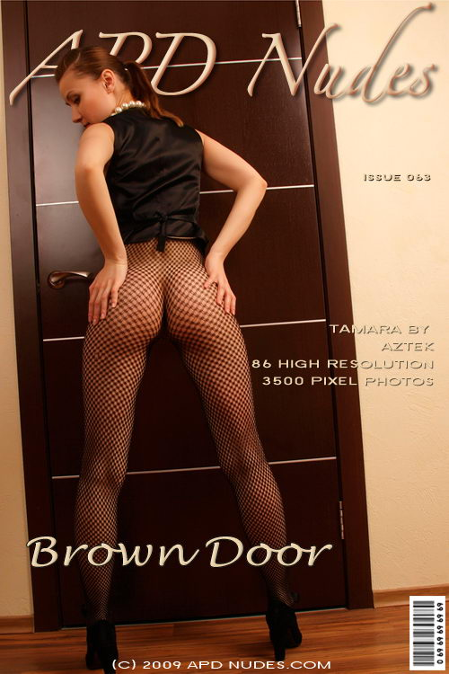 Tamara - `#063 - Brown Door` - by Aztek for APD NUDES
