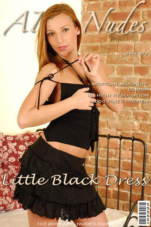 Morgan Moon - `#073 - Little Black Dress` - by Ulrich for APD NUDES