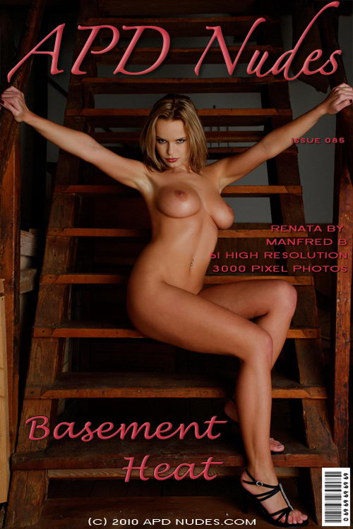 Renata - `#085 - Basement Heat` - by Manfred B for APD NUDES